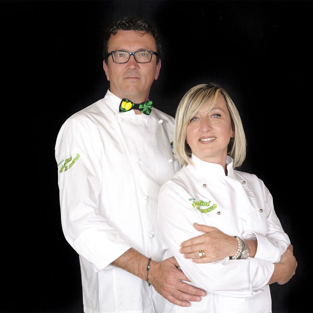 Marco Venturino e Mary Ferrando